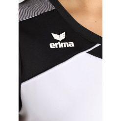 Erima PREMIUM ONE 2.0  Tshirt z nadrukiem white/black/white. Białe topy sportowe damskie Erima, z nadrukiem, z materiału. Za 169,00 zł.