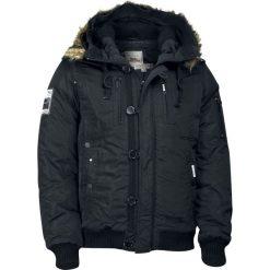 Lonsdale London Jarreth Kurtka czarny. Czarne kurtki męskie pikowane marki Lonsdale London, xl, z aplikacjami. Za 527,90 zł.
