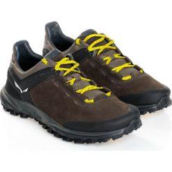 Buty trekkingowe męskie: Salewa Buty męskie MS Wander Hiker Leather Black Olive/Bergot r. 44.5 (63462-948)