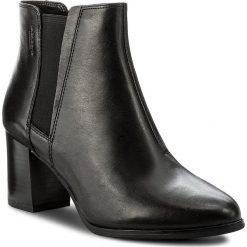 Botki VAGABOND - Lottie 4421-201-20 Black. Czarne botki damskie skórzane marki Vagabond. W wyprzedaży za 309,00 zł.