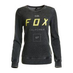 Bluzy rozpinane damskie: FOX Bluza Damska Xs Czarna