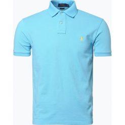 Polo Ralph Lauren - Męska koszulka polo, niebieski. Szare koszulki polo marki Polo Ralph Lauren, z bawełny. Za 299,95 zł.