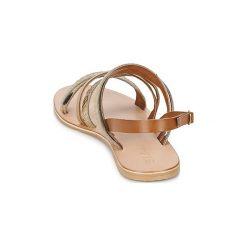 Sandały Betty London  MUTA. Brązowe sandały damskie marki Betty London. Za 159,20 zł.