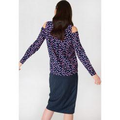 MbyM Koszula Letta - Multicolor,Navy. Niebieskie koszule wiązane damskie mbyM, z poliesteru. W wyprzedaży za 85,19 zł.