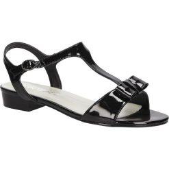 SANDAŁY SERGIO LEONE 1219. Czarne sandały damskie marki Sergio Leone. Za 69,99 zł.