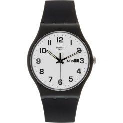 Zegarki damskie: Swatch TWICE AGAIN Zegarek black