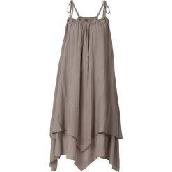 Sukienki: Sukienka bonprix ciemny brunatny