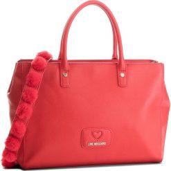 Torebka LOVE MOSCHINO - JC4284PP06KL0500 Rosso. Czerwone torebki klasyczne damskie marki Love Moschino, ze skóry ekologicznej. W wyprzedaży za 729,00 zł.