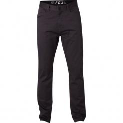FOX Spodnie Męskie Stretch Chino 32 Ciemnoszare. Czarne chinosy męskie FOX, z jeansu. Za 267,00 zł.
