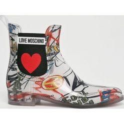 Kalosze damskie: Love Moschino - Kalosze