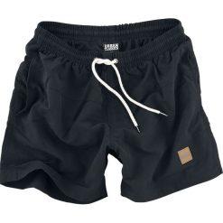 Urban Classics Block Swim Shorts Kąpielówki czarny. Czarne kąpielówki męskie marki Black Premium by EMP. Za 62,90 zł.