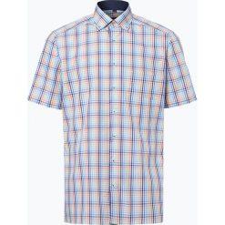 Koszule męskie na spinki: Andrew James – Koszula męska niewymagająca prasowania, pomarańczowy