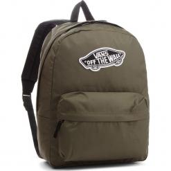 Plecak VANS - Realm Backpack VN0A3UI6KCZ Grape Leaf. Zielone plecaki męskie Vans, z materiału. W wyprzedaży za 129,00 zł.