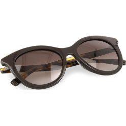 Okulary przeciwsłoneczne BOSS - 0310/S Brown Havana WR9. Brązowe okulary przeciwsłoneczne damskie lenonki marki Boss. W wyprzedaży za 399,00 zł.