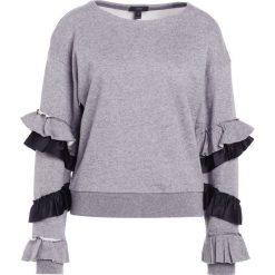 Bluzy rozpinane damskie: J.CREW RUFFLE SLEEVED Bluza heather grey