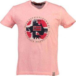 T-shirty męskie: T-shirt w kolorze jasnoróżowym