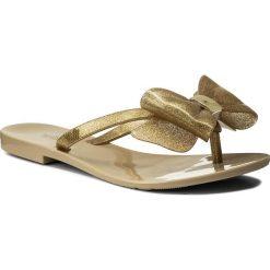 Chodaki damskie: Japonki MELISSA - Harmonic XIII Ad 32248  Beige/Glitter Gold 53262