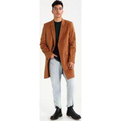 Burton Menswear London CHESTERFIELD Płaszcz wełniany /Płaszcz klasyczny camel. Brązowe płaszcze wełniane męskie marki Burton Menswear London, m, klasyczne. Za 529,00 zł.