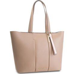 Torebka CALVIN KLEIN - City Leather Shopper K60K604476 007. Brązowe shopper bag damskie marki Calvin Klein, ze skóry. W wyprzedaży za 1039,00 zł.