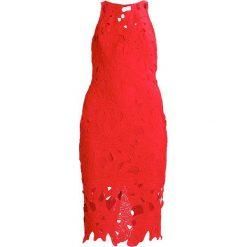 Sukienki: Missguided CROCHET MIDI DRESS Sukienka koktajlowa red
