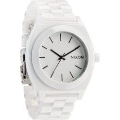 Zegarki damskie: Zegarek damski White Nixon Time Teller Ceramic A2501100