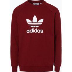 Bejsbolówki męskie: adidas Originals - Męska bluza nierozpinana, czerwony