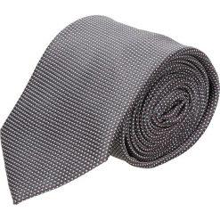 Krawaty męskie: krawat platinum grafit classic 208