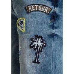 Jeansy dziewczęce: Retour Jeans ROB Szorty jeansowe medium blue denim
