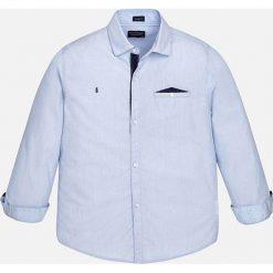 Mayoral - Koszula dziecięca 128-172 cm. Szare koszule męskie na spinki marki S.Oliver, l, z bawełny, z włoskim kołnierzykiem, z długim rękawem. Za 114,90 zł.