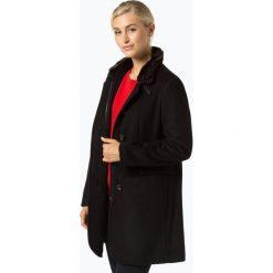 Marie Lund - Płaszcz damski z dodatkiem kaszmiru, czarny. Czarne płaszcze damskie wełniane Marie Lund, wizytowe. Za 499,95 zł.