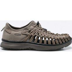 Keen - Sandały Uneek O2. Szare sandały męskie marki Keen, z materiału, z okrągłym noskiem. W wyprzedaży za 239,90 zł.