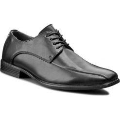 Półbuty VAPIANO - M160411-01 Czarny. Czarne półbuty skórzane męskie marki Kazar. W wyprzedaży za 79,99 zł.