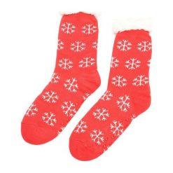 Bielizna: Czerwono-Białe Skarpetki Christmas Time