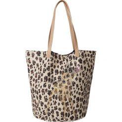 """Shopper bag damskie: Shopper bag """"Bambi"""" w kolorze beżowym – 44 x 55 x 38 cm"""