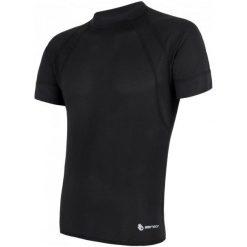 Sensor Męska Koszulka Coolmax Air Black Xl. Czarne koszulki do fitnessu męskie Sensor, m. Za 125,00 zł.
