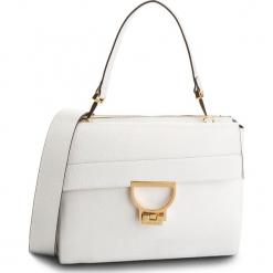 Torebka COCCINELLE - DD5 Arlettis E1 DD5 12 06 01 Blanche H10. Białe torebki klasyczne damskie Coccinelle, ze skóry, zdobione. Za 1699,90 zł.