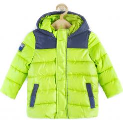 Kurtka. Zielone kurtki chłopięce przeciwdeszczowe marki SPACE, z polaru. Za 129,90 zł.
