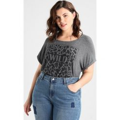 T-shirty damskie: ADIA WILD  Tshirt basic grey melange