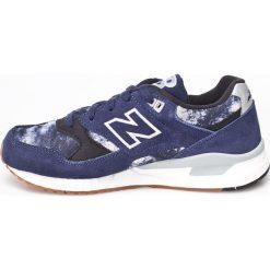 New Balance - Buty. Szare buty sportowe damskie New Balance, z materiału. W wyprzedaży za 219,90 zł.