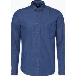 Koszule męskie na spinki: BOSS Casual – Koszula męska – Erum, niebieski
