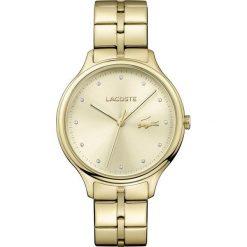 Lacoste - Zegarek Constance 2001008. Szare zegarki damskie Lacoste, szklane. Za 899,90 zł.