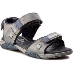 Sandały RENBUT - 31-4168 Popiel. Szare sandały męskie skórzane marki RenBut. W wyprzedaży za 139,00 zł.