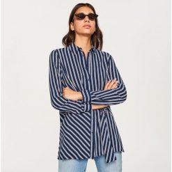 Koszula w paski - Granatowy. Koszule w niebieskie paski Reserved. Za 69,99 zł.