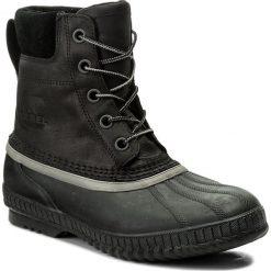 Śniegowce SOREL - Cheyanne II NM2575 Black/Black 010. Czarne śniegowce męskie Sorel, z gumy. Za 629,99 zł.