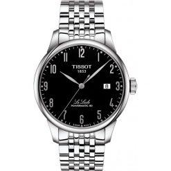 RABAT ZEGAREK TISSOT T-Classic T006.407.11.052.00. Czarne zegarki męskie TISSOT, ze stali. W wyprzedaży za 1936,00 zł.