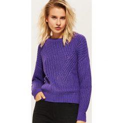 Sweter - Fioletowy. Fioletowe swetry klasyczne damskie marki House, l. Za 89,99 zł.