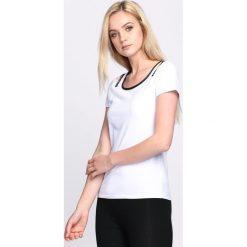 T-shirty damskie: Biały T-shirt Summertime Trip