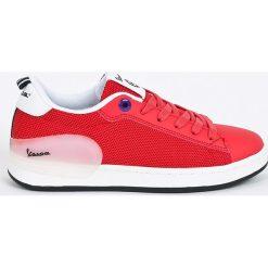 Vespa - Buty Freccia. Czerwone buty sportowe damskie marki KALENJI, z gumy. W wyprzedaży za 219,90 zł.