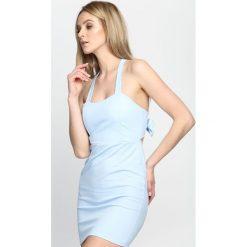 Jasnoniebieska Sukienka Aeroplane. Niebieskie sukienki letnie Born2be, s. Za 64,99 zł.