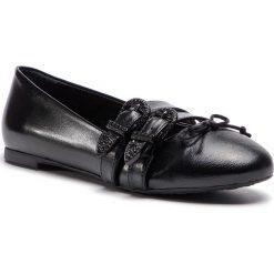 Baleriny TRUSSARDI JEANS - 79A00289 K299. Czarne baleriny damskie marki Trussardi Jeans, z jeansu. W wyprzedaży za 299,00 zł.